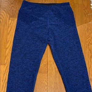 Beyond Yoga Blue leggings